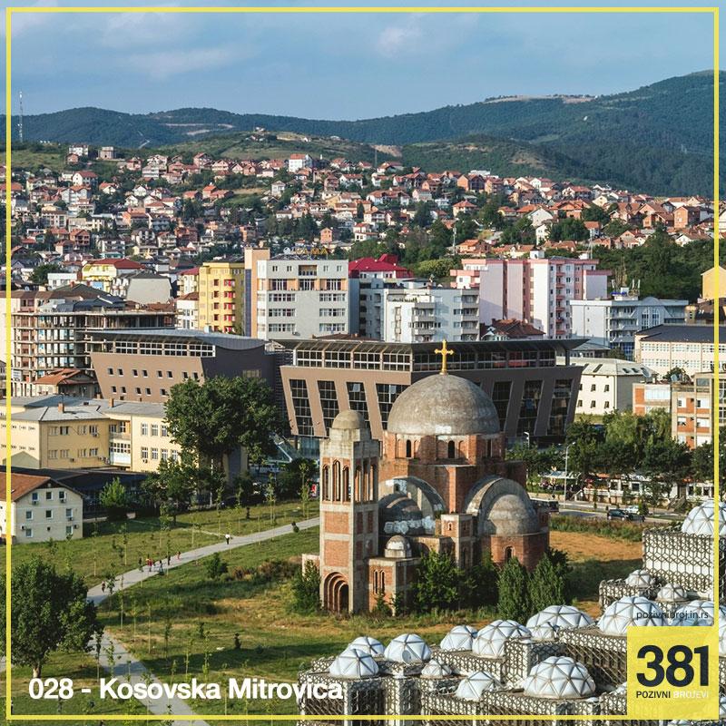 Pozivni broj Kosovska Mitrovica