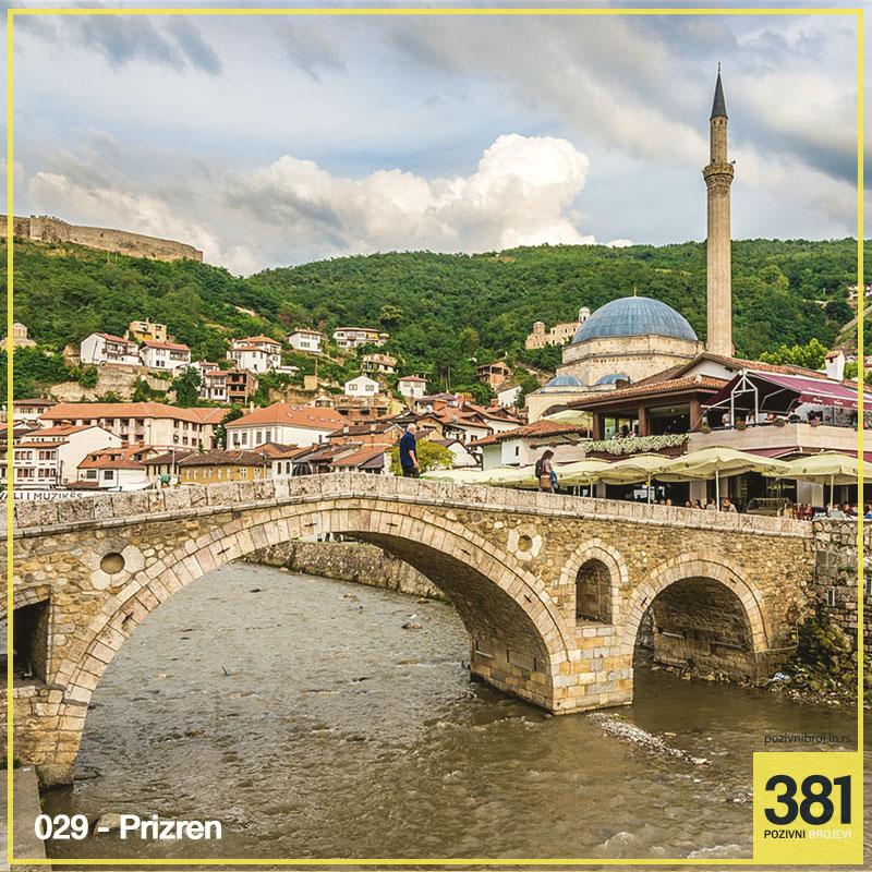 Pozivni broj Prizren 029