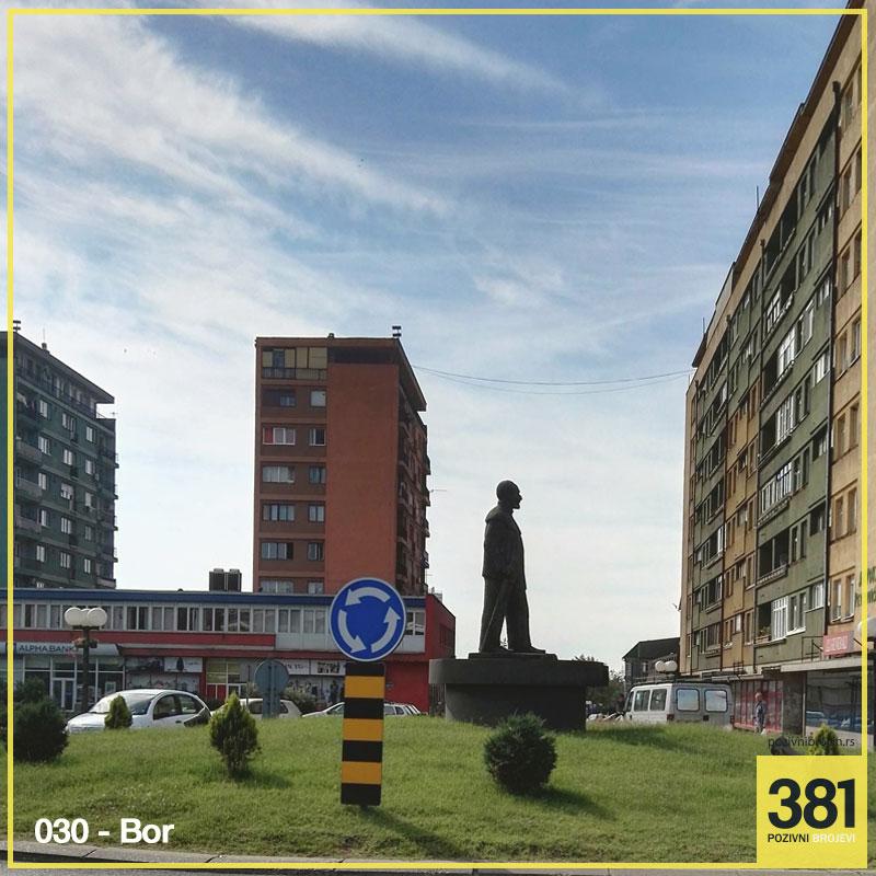 Pozivni broj Bor 030